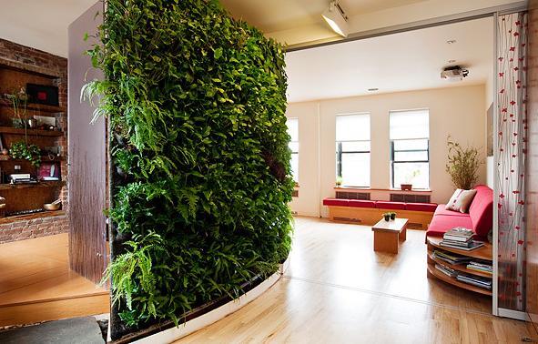jardim vertical moderno:Living Wall Vertical Garden