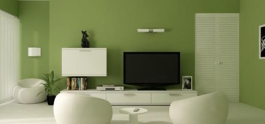 O verde, combinado com o branco, garante um efeito mais tranquilo e sofisticado | Foto: Art Maison.
