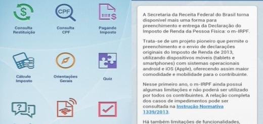 Aplicativo da Receita Federal visa otimizar o processo da declaração do imposto de renda | Via: Tecnoblog.