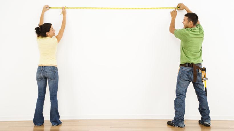Saiba a diferença entre área útil, total, comum e privativa de apartamentos. Foto: Shutterstock