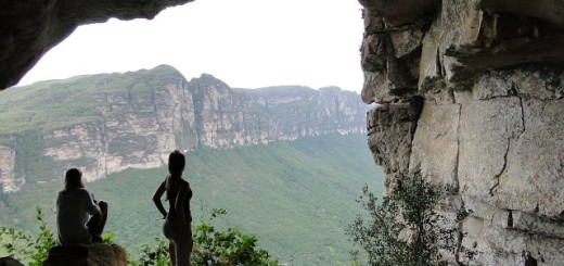 A escalada, além de permitir um contato maior com a natureza, proporciona vistas deslumbrantes | Foto: Aventurismus - Chapada Diamantina