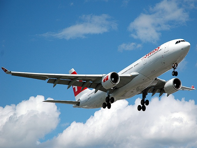 Manter a calma em uma viagem de avião é fundamenal. Foto: Compfight.