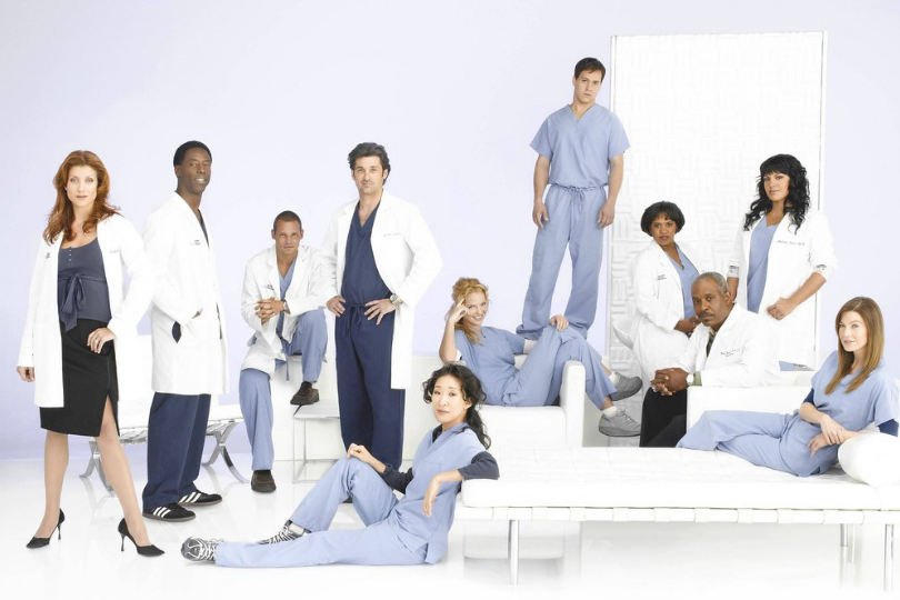 Elenco principal seriado Greys Anatomy