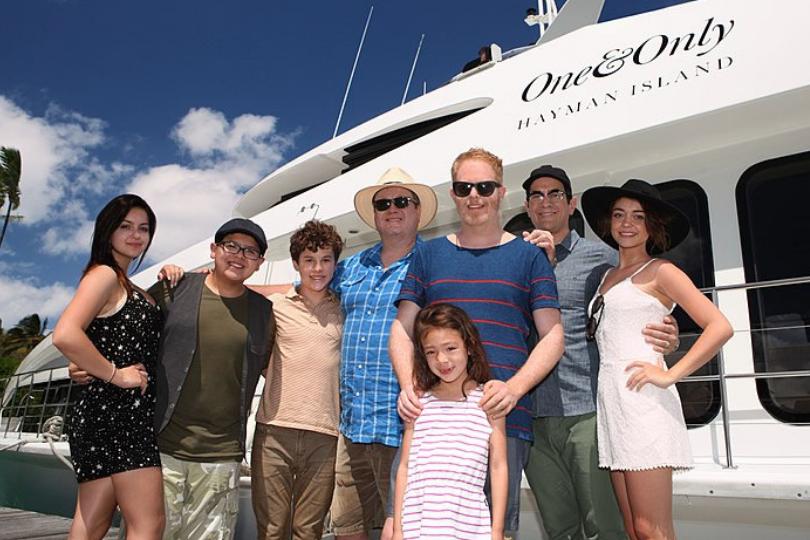 elenco principal Modern Family
