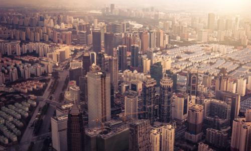 Vista panorâmica da cidade de Nova York
