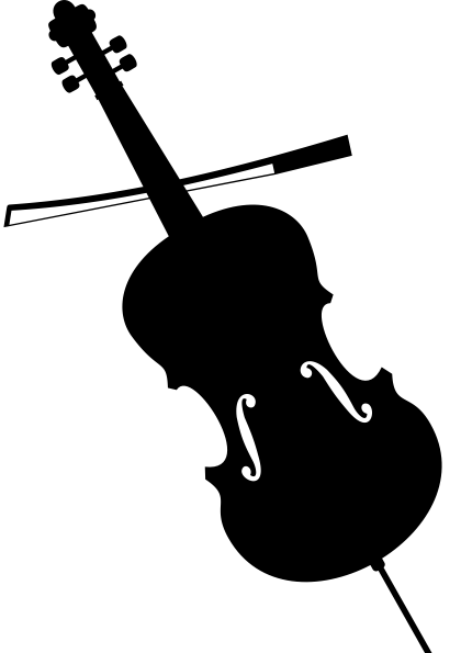 Figura de instrumento musical - violino