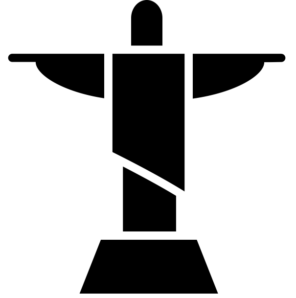 Simbolo do Cristo Redentor - Rio de Janeiro